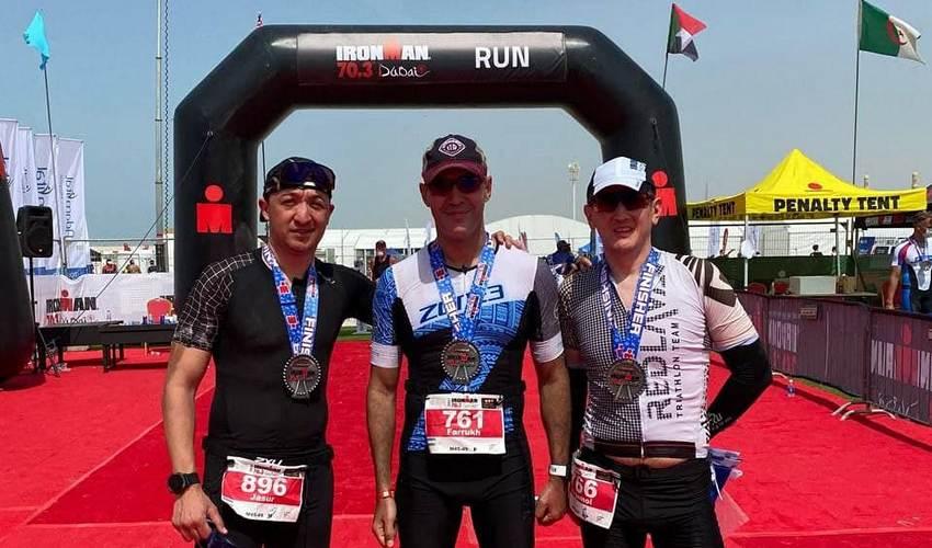 Руководство САТА приняло участие на IRONMAN 70.3 Dubai